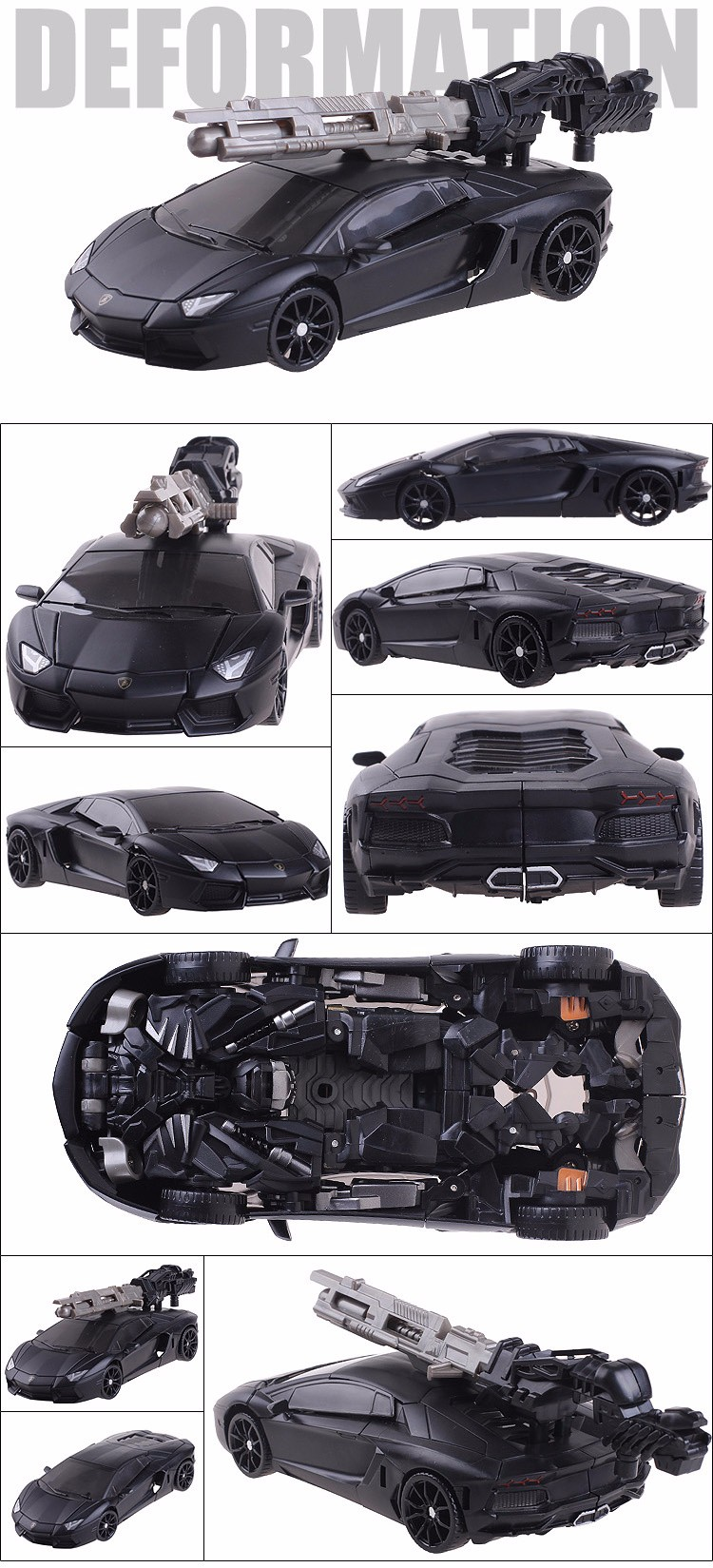 роботы трансформеры Lamborgini Plastic ABS + Alloy Transformation Action Figure Toys Classic Movie 4 Series Robot Car Cool Juguetes Boy Toys Party Gift
